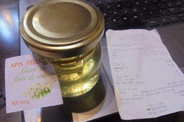 """Prețuri piperate la câteva sortimente de miere din magazinul de stat deschis în București de Casa de Comerț """"Unirea"""""""