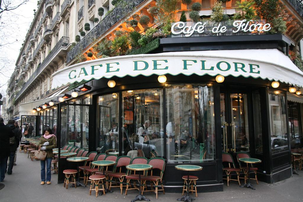 Celebra cafenea pariziană, Cafe de Flore, care a rămas deschisă și în timpul celui de-al Doilea Război Mondial, a fost închisă din cauza pandemiei Covid - 19